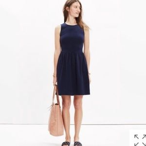 Madewell Afternoon Fit N Flare Dress